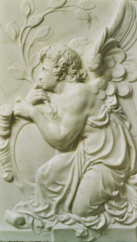 Marmeren engelen van de St. Jan