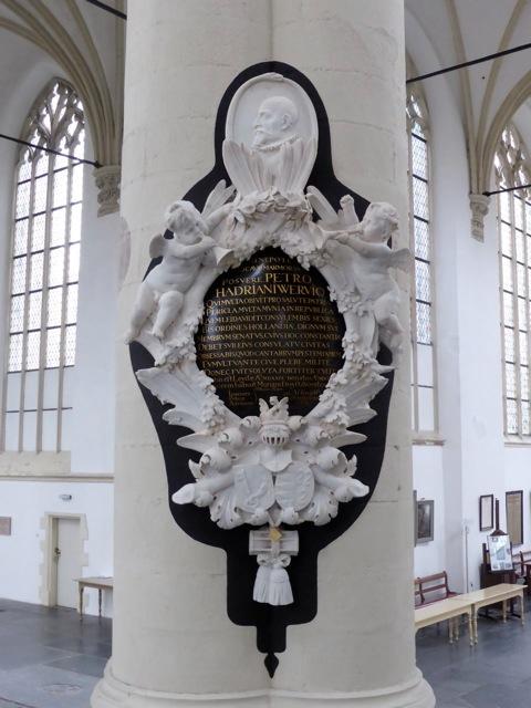 Epitaaf van der Werf door Romboud Verhulst